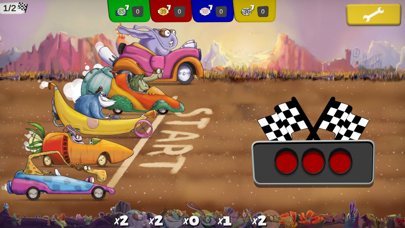 Jungle Race Digital screenshot 1