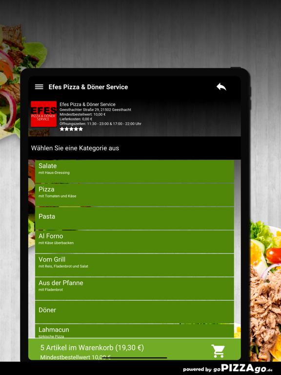 Efes Pizza & Döner Service screenshot 8
