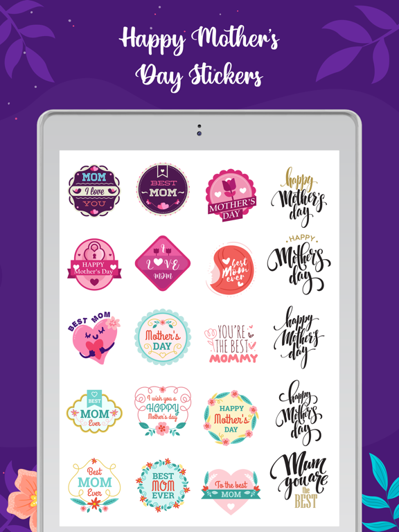 Mother's Day Stickers! screenshot 7