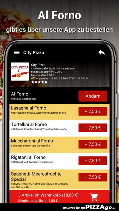City Pizza Halle (Saale) screenshot 5