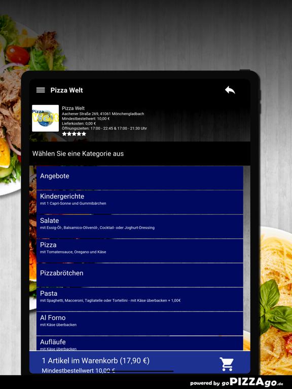 Pizza Welt Mönchengladbach screenshot 8