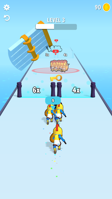Crowd Fight 3D screenshot 3
