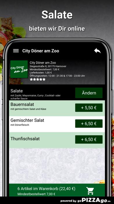 City Döner am Zoo Hannover screenshot 5