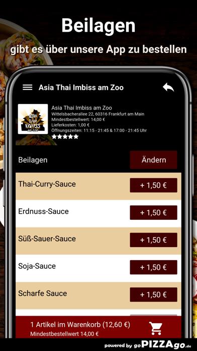 Asia Thai Imbiss Frankfurt am screenshot 6