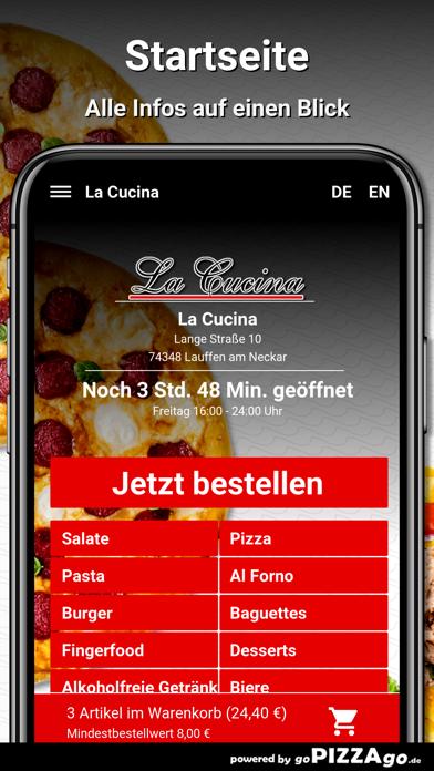 La Cucina Lauffen am Neckar screenshot 2