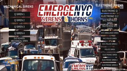 EmergeNYC Sirens & Horns Pro screenshot 1