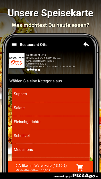 Restaurant Otts Hannover screenshot 4