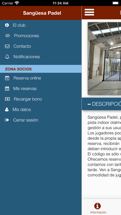 Sangüesa Padel screenshot 3
