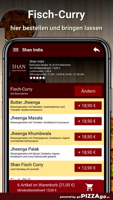 Shan India München screenshot 6