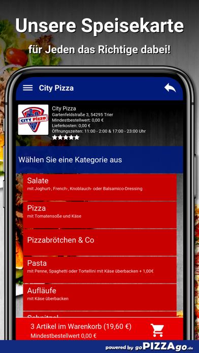 City-Pizza Trier screenshot 4