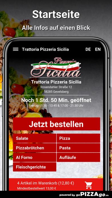 Pizzeria Sicilia Gevelsberg screenshot 2