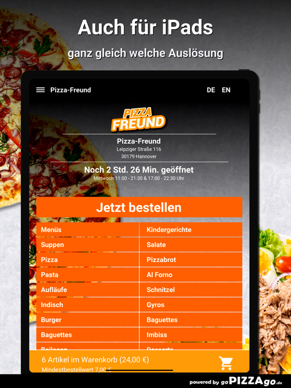 Pizza-Freund Hannover screenshot 7
