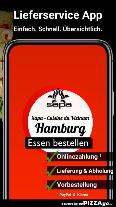 Sapa - Cuisine du Vietnam Hamb screenshot 1
