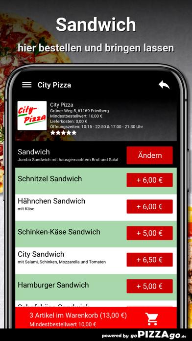 City Pizza Friedberg screenshot 5