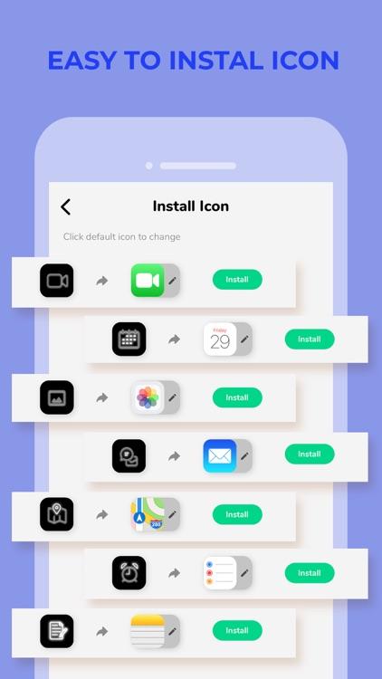 Icon Changer: Aesthetic Themer screenshot-7