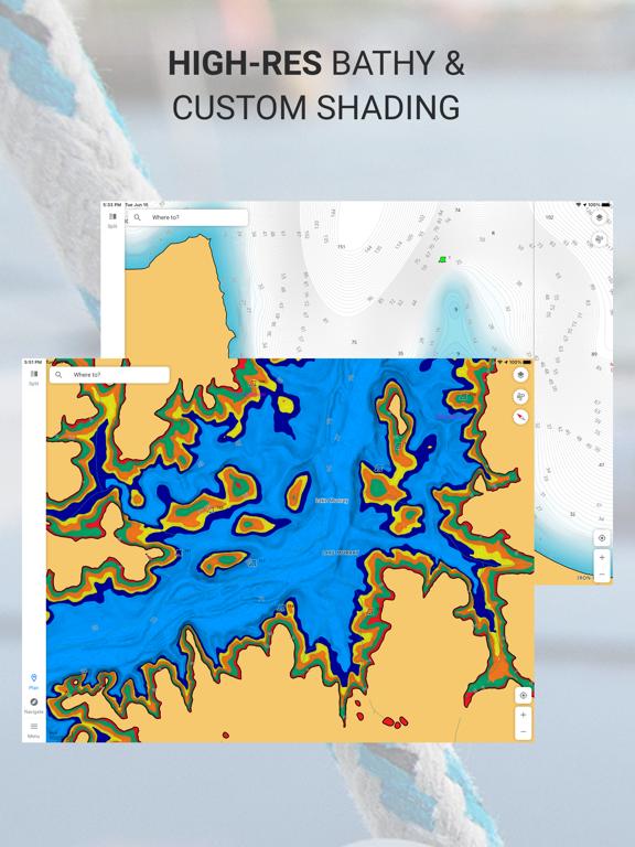 Screenshot #6 pour C-MAP : Cartes marines & météo