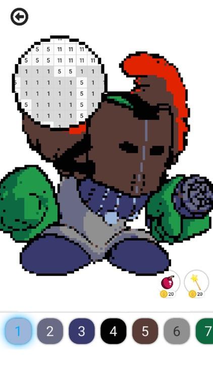 Pixel FNF : Color by Number screenshot-3