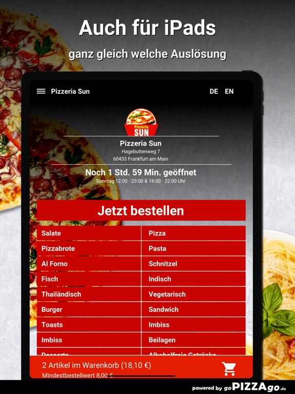 Pizzeria Sun Frankfurt am Main screenshot 7