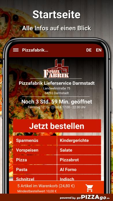 Pizzafabrik Darmstadt screenshot 2
