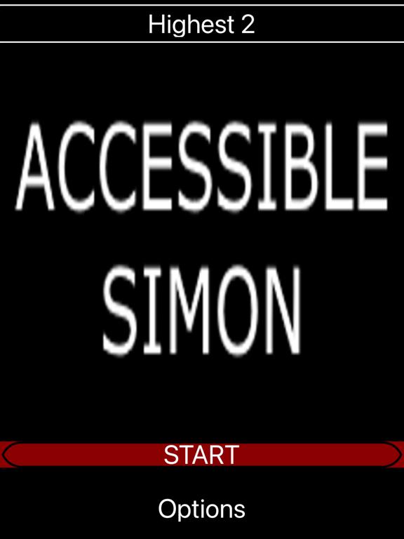 Accessible Simon