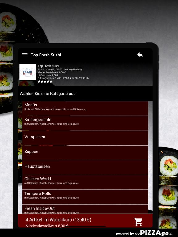 Top Fresh-Sushi Hamburg screenshot 8