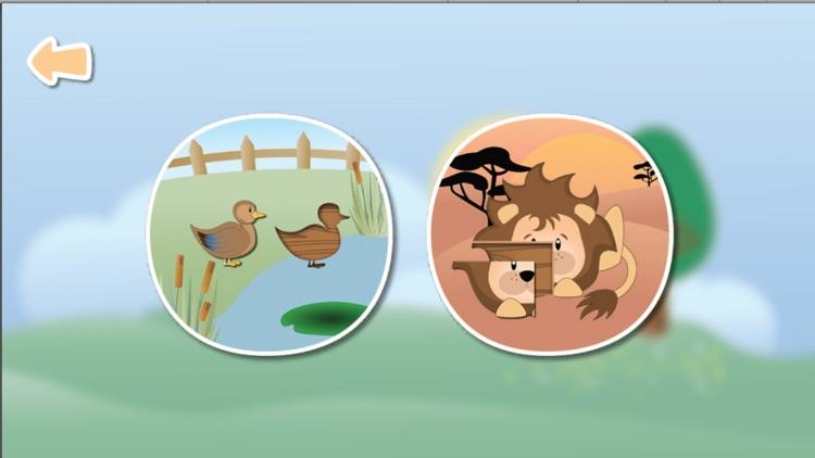 Animals - puzzle Game