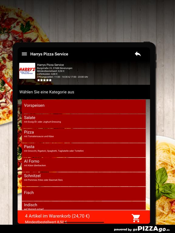 Harrys Pizza Beverungen screenshot 8