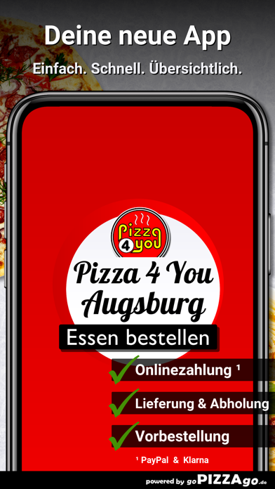 Pizza 4 You Augsburg screenshot 1