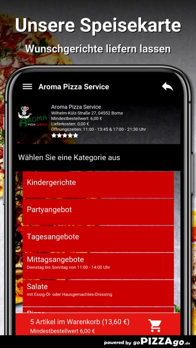 Aroma Pizza Service Borna screenshot 4