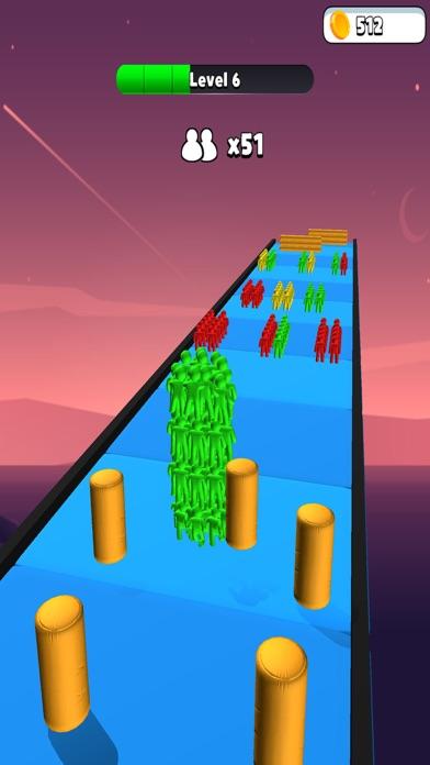 Colorful Racing Strike Guys screenshot 2