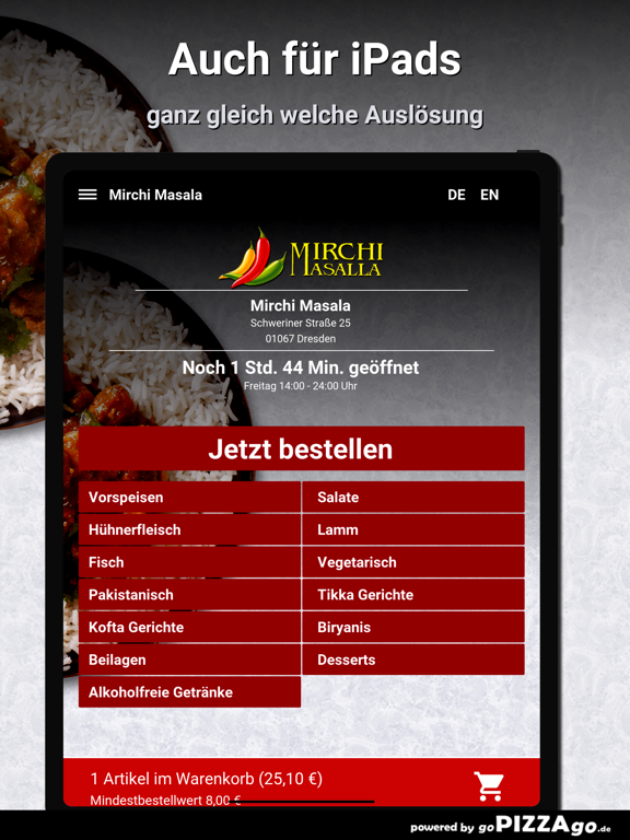 Mirchi Masala Dresden screenshot 7