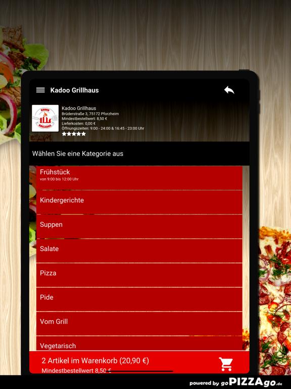Kadoo Grillhaus Pforzheim screenshot 8