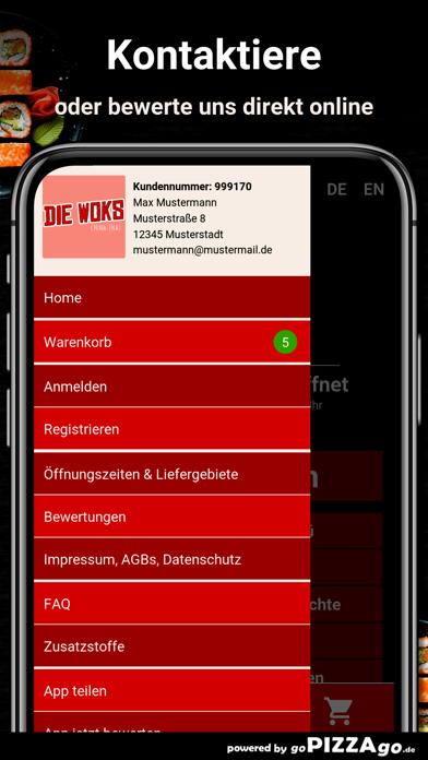 Die Woks China-Thai München screenshot 1