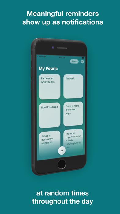 Pearl: Wellness Reminders screenshot 1