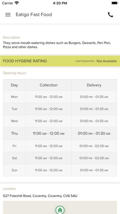 Eatigo Fast Food screenshot-3