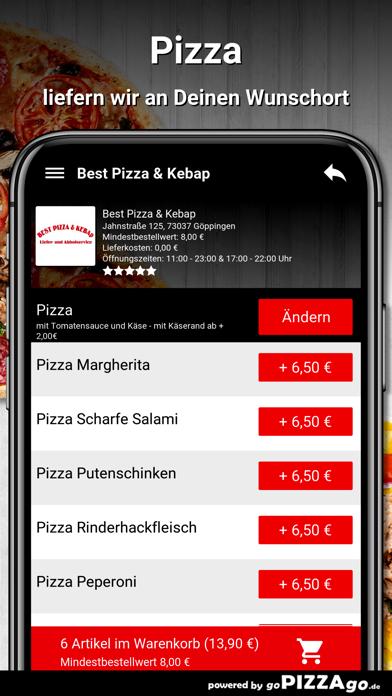 Best Pizza & Kebap Göppingen screenshot 6