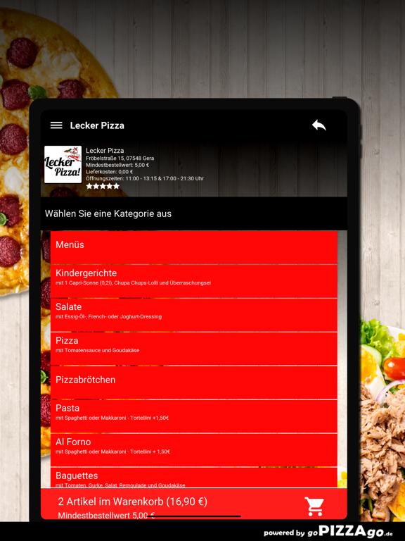Lecker Pizza Gera screenshot 7