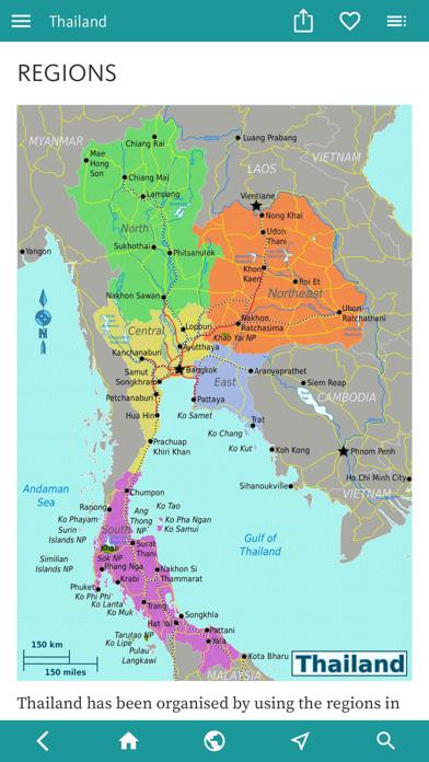 Thailand's Best: Travel Guide screenshot 5