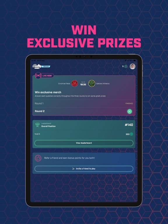 Bally Sports Trivia screenshot