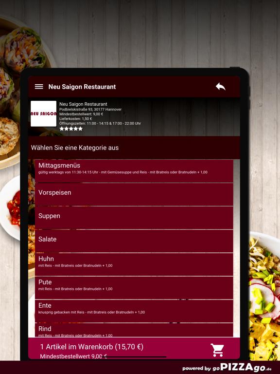 Neu Saigon Restaurant Hannover screenshot 8