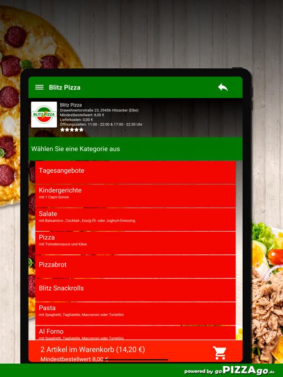 Blitz Pizza Hitzacker (Elbe) screenshot 8