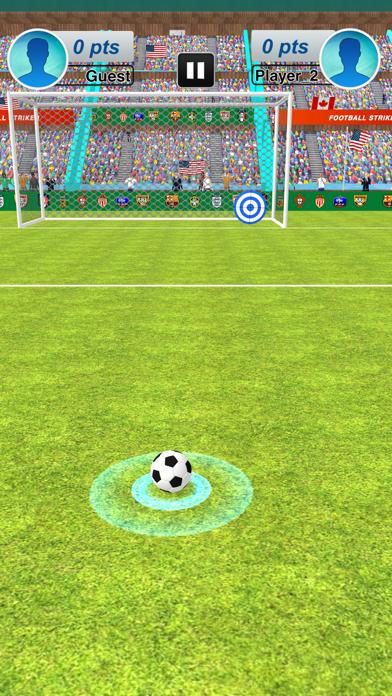 本物のサッカーサッカーストライカー紹介画像4