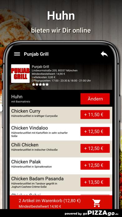 Punjab Grill München screenshot 5