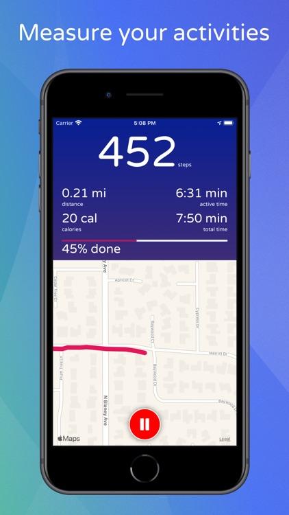 Steps - Activity Tracker screenshot-4