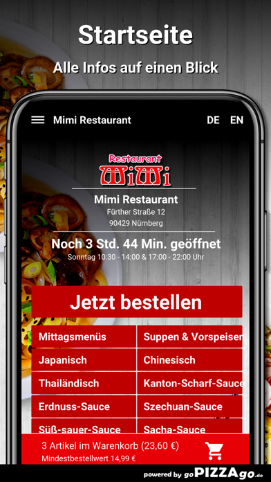 Mimi Restaurant Nürnberg screenshot 3
