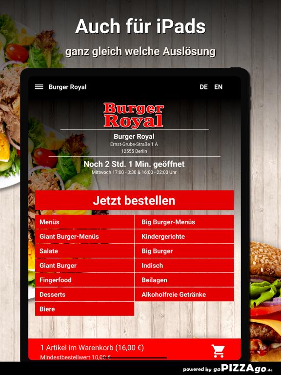 Burger Royal Berlin screenshot 7