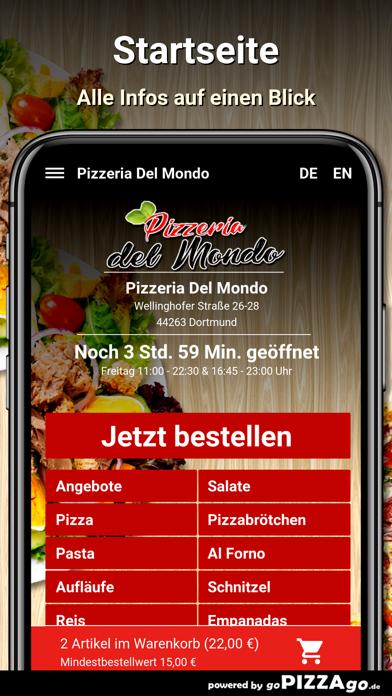 Pizzeria Del Mondo Dortmund screenshot 2