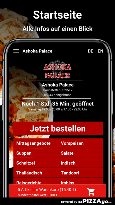 Ashoka Palace Königsbrunn screenshot 2