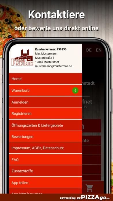 Pizzafabrik Darmstadt screenshot 3
