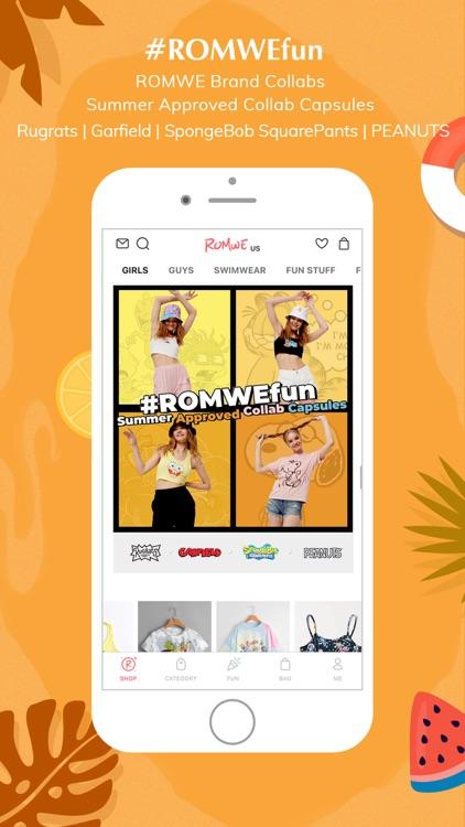 ROMWE -Online Fashion Store